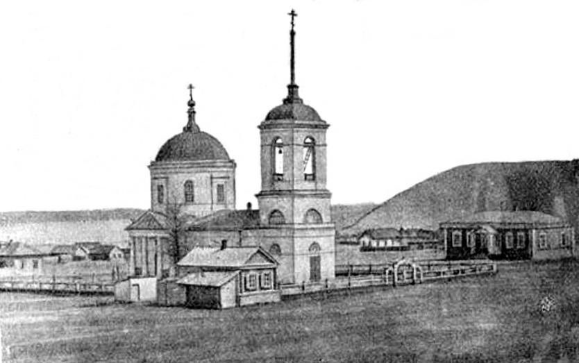 Храм в 1911 году