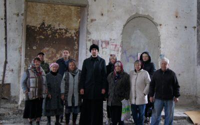Собрание прихожан храма Воскресения Христова